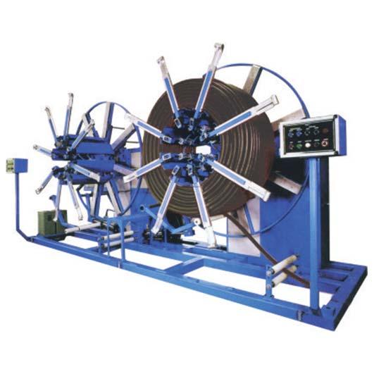 Automatic HDPE Pipe Coiler/Winder